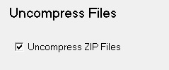 Uncompress Files
